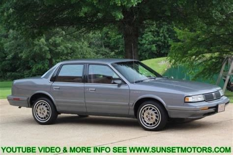 1993 oldsmobile cutlass ciera s survivor only 61k miles clean free shipping