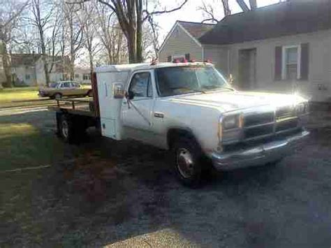 Dually Sleeper by Purchase Used 1993 Dodge Ram Diesel Cummins Allison Trans