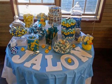 Rubber Ducky Baby Shower Ideas For A Boy by Best 25 Baby Shower Table Ideas On