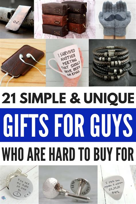 thoughtful gifts for him unique gifts for him 21 thoughtful ways to say i you
