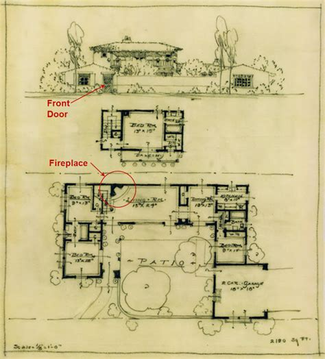cliff may house plans discovering an unknown cliff may home in san diego 2