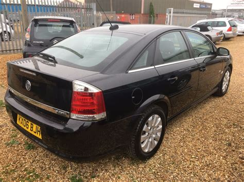 vauxhall vectra black used black vauxhall vectra for sale cambridgeshire