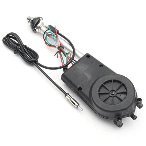 universal auto car power electric aerial automatic antenna mast am fm radio ebay