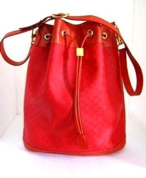 At051 Fashion 382 Shoulder Bag gucci shoulder bag drawstring style cross authentic vintage 1980s