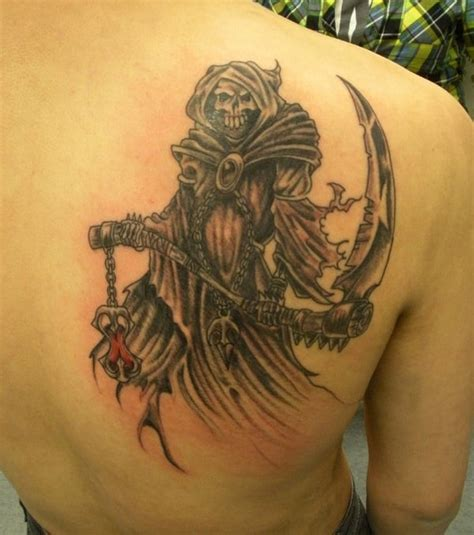 new school reaper tattoo grim reaper tattoos for men ideas and inspiration for guys
