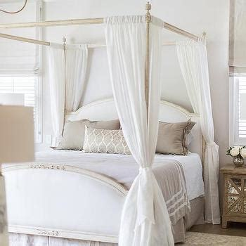sheer bed canopy metal canopy bed contemporary bedroom heather