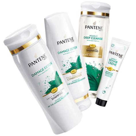 Hair Detox Pills by Pantene Pro V Damage Detox Rebuilding
