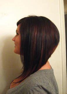 dramatic aline cut dramatic long a line bob haircuts i want pinterest