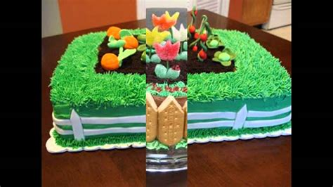 Garden Cakes Ideas Garden Cake Decorations Ideas
