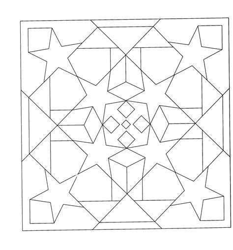 imagenes para colorear con figuras geometricas image gallery dibujos geometricos