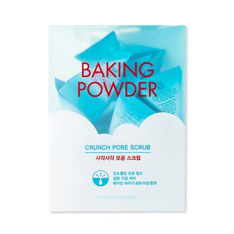 Etude Baking Powder etude house baking powder crunch pore scrub 7g 24ea