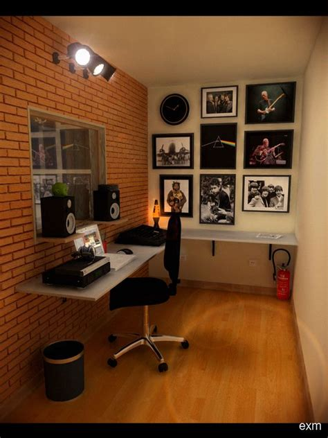 Where To Get A Desk by Speakers On Shelves Above Desk Do This With Ikea Lack