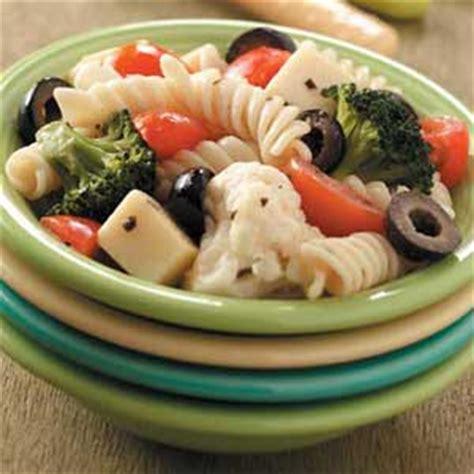 potluck pasta salad recipe taste of home