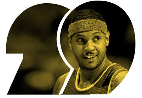 espns world fame 100 espn world fame 100 no 29 carmelo anthony