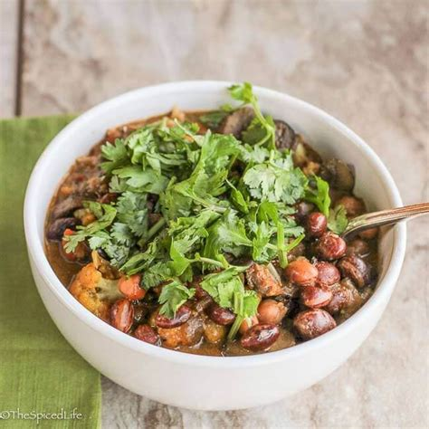 spiced indian greens and chickpeas life diy with ak indian bean and chickpea stew with mushrooms the spiced life