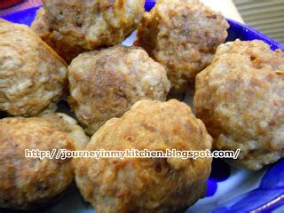 membuat bakso udang goreng journey in my kitchen deep fried pork meatball baso