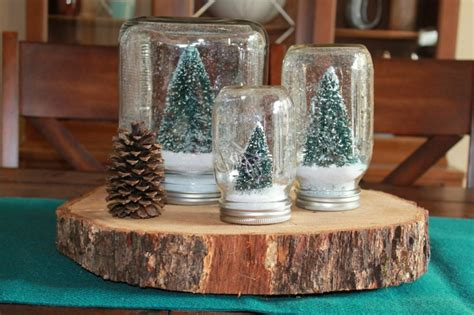 weihnachtsdekoration fenster selber machen schneekugel selber machen deko feiern diy