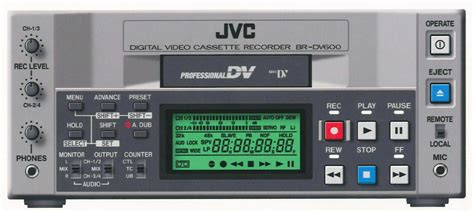 mini dv digital cassette jvc br dv600u mini dv recorder