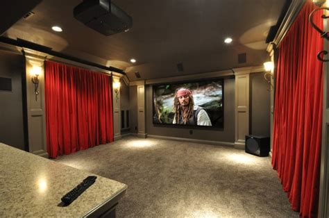 media room curtains love the red velvet curtains home sweet home pinterest