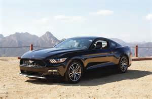 Ford Mustang 2015 Black 2015 Ford Mustang Black