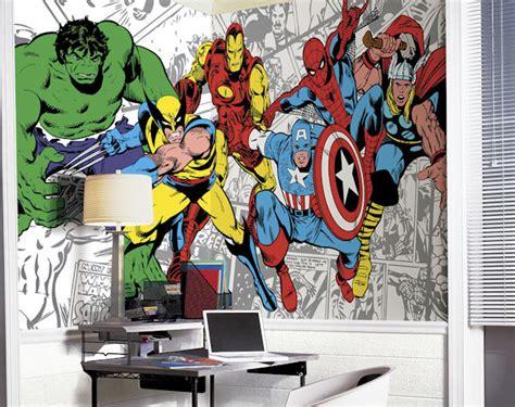 marvel wall murals marvel classic character xl mural 6 5 x 10