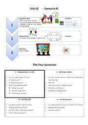 themes for english skit english worksheets skit lesson 4 themes