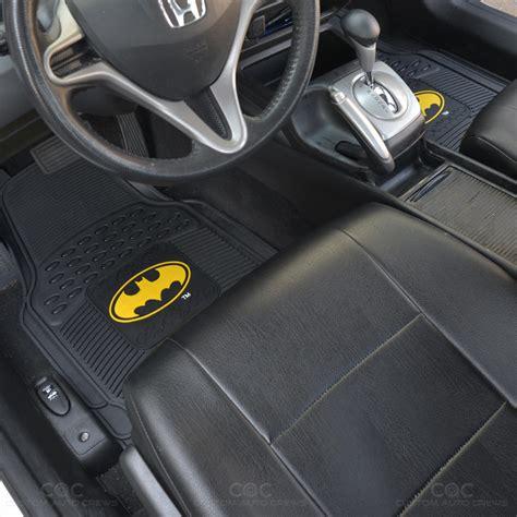 Batman Floor Mats For Cars by Original Batman Rubber Front Car Floor Mats Set Gift Pack