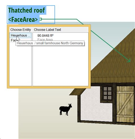 sketchup layout change font labeling items in your document sketchup knowledge base