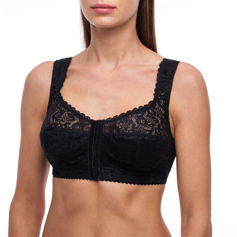 Wireless Front Closure Bra frugue bra front closure cup coverage wireless secret