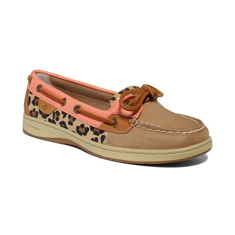 sperrys shoes sperry top sider womens angelfish boat shoes in lyst