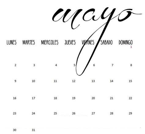 libra mes de mayo 2016 acuario mes de mayo de 2016 calendario mayo 2016 para imprimir