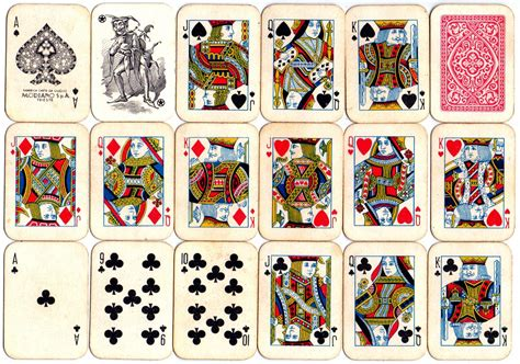 Gift Card From - miniature playing cards the world of playing cards