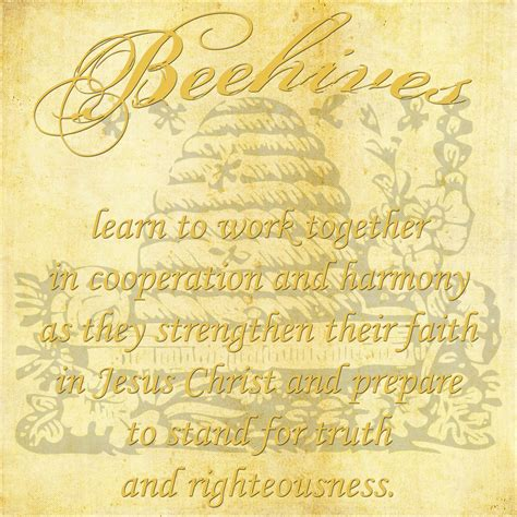 { Mormon Share } Beehive Class 12x12 Poster Print