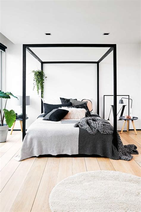 black canopy bed frame 33 canopy beds and canopy ideas for your bedroom digsdigs