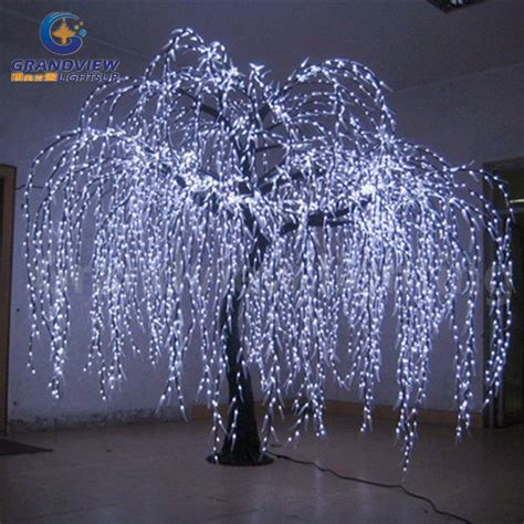 indoor tree with lights lighted willow tree look trunk led indoor out door