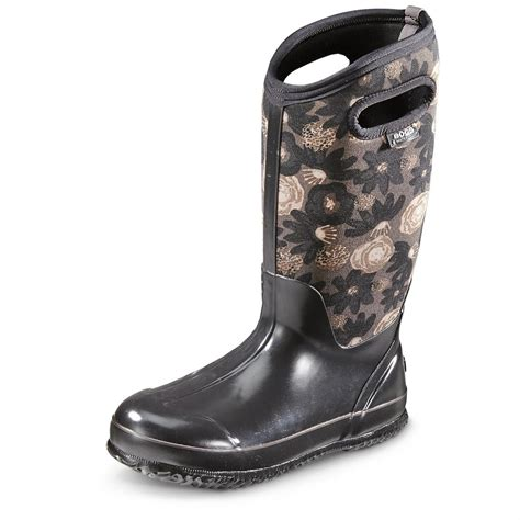 s bogs watercolor classic winter boots waterproof