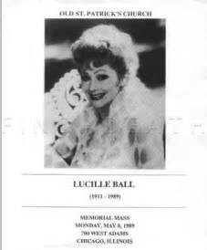 Lucille Ball Death by Lucille Ball Funeral Images Amp Pictures Becuo