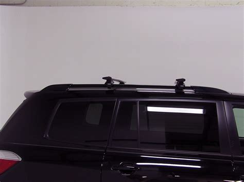 thule roof rack for 2010 toyota highlander etrailer