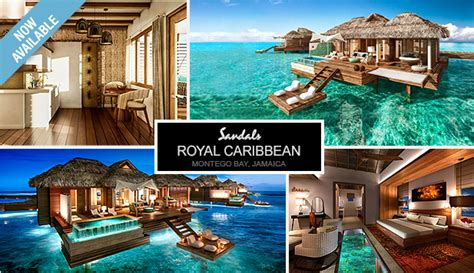 sandals south coast opens booking on overwater bungalows overwater suites vacation goals wedding butlers