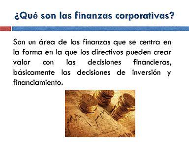 finanzas corporativas finanzas corporativas principios de las finanzas corporativas