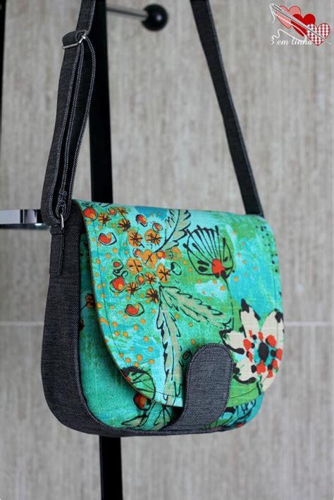 sewing pattern handbag sandra saddle bag swoon sewing patterns