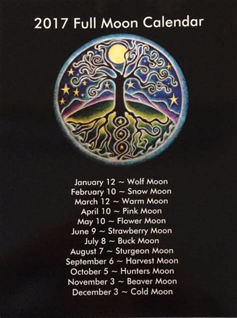 2017 full moon calendar spacecom best 25 full moon names ideas on pinterest full moon