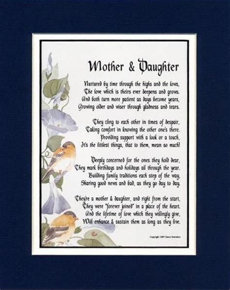 Deceased Birthday Quotes Deceased Mom Poems For Mom Mother To Daughter Poems