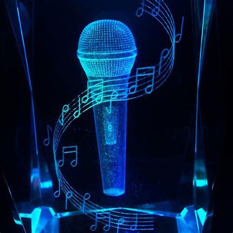 music note christmas lights i love music and crystal christmas gift present light