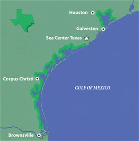 gulf of texas map tpwd education coastal habitats sea center texas