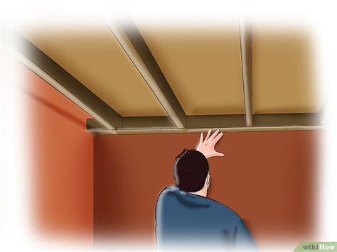 insonorizzare un soffitto come insonorizzare un soffitto 6 passaggi illustrato