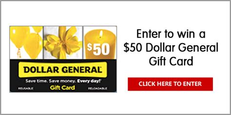 Dollar General Sweepstakes 2017 - dinneratthezoo com 50 dollar general gift card giveaway 8 17 17 1pp18