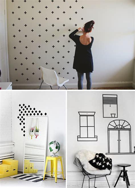 decorar casa de co 4 ideias para decorar a casa usando fita isolante