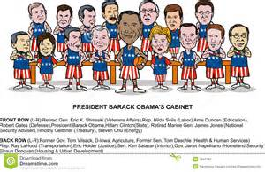 Presidential Cabinets Barack Obama S New Cabinet Editorial Photography Image