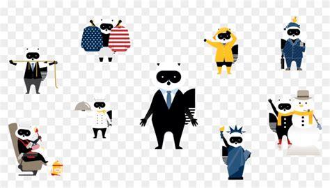raccoon mascot  porter airlines  designed